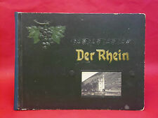 DER RHEIN  - MAYENCE du Rhin jusqu'à Cologne - 20 photogravures