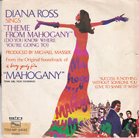 45 giri DIANA ROSS-Do You Know Where You're going to (theme from Mahogany) 1975