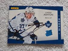 Toronto Maple Leafs Carter Ashton Signed 12/13 Panini Rated Rookie Card #/399