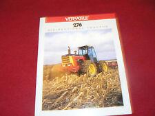 Versatile 276 Bidirectional Tractor Dealer's Brochure 614512-7-87