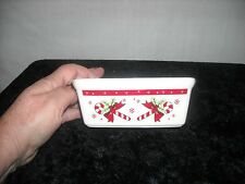 Century Candy Cane Mini Loaf Pan Microwave Oven dishwasher Safe NEW