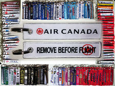 Keyring AIR CANADA NEW LOGO! tyler brulee Remove Before Flight keychain crew