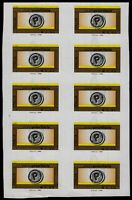 2006/08 - Posta Prioritaria - € 0,60 Blocco di 10 - Varietà (n.2582Al)
