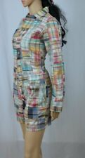 POLO by Ralph Lauren Indian Madras Plaid Long Sleeve Shorts Jumper~NWT $229.99