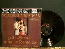 SOLOMON AND SHEBA  Original Soundtrack LP  Reissue     GREAT!