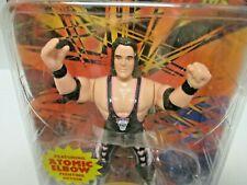NEW Atomic Elbow Bret Hart (MOC) WCW wrestlers (1998) San Francisco Toy Co