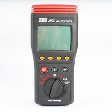 TES-3660 Autoranging Insulation Resistance Tester Meter