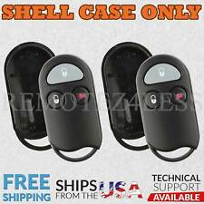 2 for 2000 Nissan Xterra Remote Shell Case Car Key Fob Cover