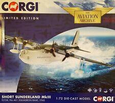 Corgi 1:72 Sunderland Mk. III AA27501 Rara!