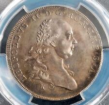 1791, Regensburg, Leopold II. Silver ½ Thaler Coin. 1,446 pcs. Struck! PCGS AU+