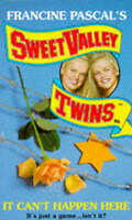 """""""AS NEW"""" It Can't Happen Here (Sweet Valley Twins S.), Suzanne, Jamie, Book"""