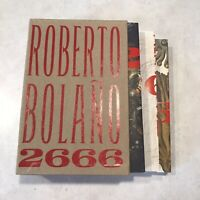 2666 by Roberto Bolaño (2008, Trade Paperback) in slipcase Box Set Three Books