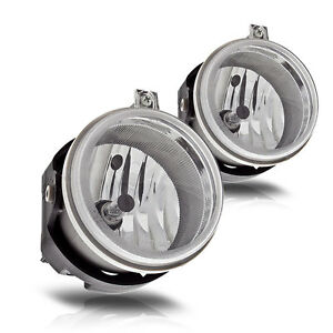 For 2007-2009 Jeep Patriot Fog Lights Front Driving Lamps Replacements