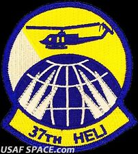USAF 37th HELICOPTER SQUADRON -F E Warren AFB, WY-  ORIGINAL AIR FORCE VEL PATCH