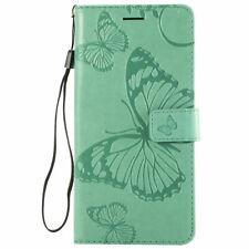 Flip Leather Embossed Butterfly Wallet Stand Case For LG V40 /V50 /V60 ThinQ/V30