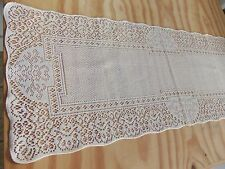"""New Ivory lace Canterbury Classic design Table Runner  36"""" x 14"""""""