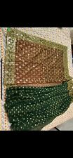"""Indian Designer Saree Wedding Party Wear New With Unstitched""""Blouse Piece."""""""