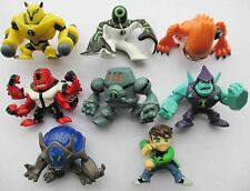 "LOT 8 Ben 10 MINI Figure set 2"" #kjkj8"