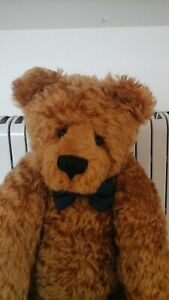 ANGUS Huge L/E Artist Teddy Bear By Janet Clark For Bee-Utiful Bears Of...