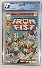 Iron Fist #14 (Marvel 8/77) 1st app of Sabretooth (Victor Creed) - CGC 7.0 FN/VF