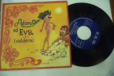 """FRANCO TRINCALE""""ADAMO ED EVA-disco 45 giri FDM  1968"""""""
