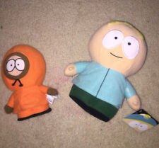 """RARE SOUTH PARK 2014 BUTTERS 9"""" PLUSH & 2006 KENNY 8"""" PLUSH COMEDY CENTRAL"""