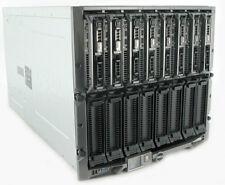 8 x Dell PowerEdge m620 Blade Server in m1000e 16 x 8-Core e5-2670 512gb RAM + +