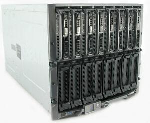 8 x Dell PowerEdge M620 blade Servers in M1000e 16 x 8-Core E5-2670 512Gb Ram ++