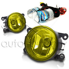 For 2007-2012 Sentra SE-R Replacement Fog Lamps w/HID Conversion Kit - Yellow