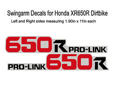 Swingarm Decals for Honda XR650R dirtbike - XR 650R XR650 XR 650 650R