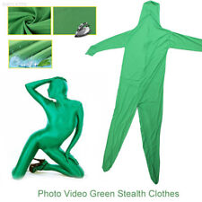 E44C Invisible Effect Video Body Green Screen Suit Chroma Key Skin Suit Photo