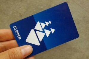🔥🔥🔥 $100 BAY AREA CLIPPER CARD FOR CalTrain, BART TICKETS, MUNI, AC TRANSIT