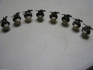 Complete 8 Piece Set Blanton's Bourbon Horse Stoppers  Blantons New
