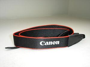 """CANON EOS CAMERA NECK STRAP, soft, 15/16"""" wide EM-200DB Genuine  #002052"""