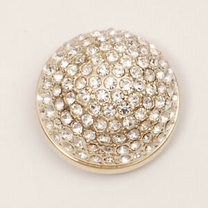 Popits Jeweled Dome Gold Charms