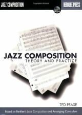 """BERKLEE """"Jazz Composition: Theory and Practice"""" MUSIC BOOK/CD-BRAND NEW ON SALE!"""
