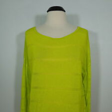 WOMEN'S Lime Green Pullover Sweater