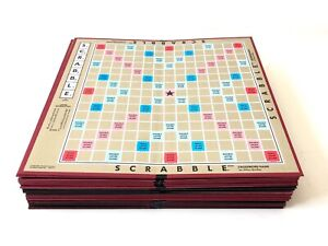 Scrabble Game Board Lot or Individual, Various Years, Selchow & Righter, Hasbro