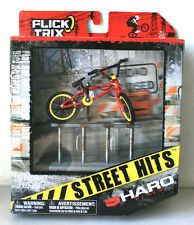 New Flick Trix 2010 Street Hits Haro Bikes Finger Bike with Flat Bar Rail #Q47
