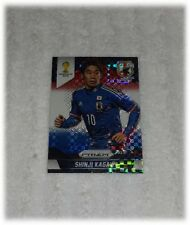 2014 Panini Prizm World Cup Red Blue Plaid Shinji Kagawa - Japan #200