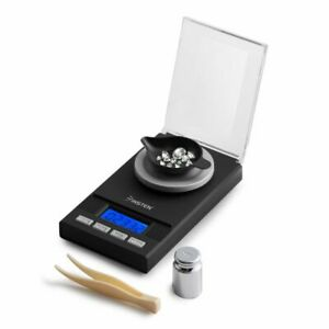 Precision Digital Jewelry Scale 50g X 0.001g Pocket Size Diamond Weight Balance