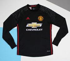 Manchester United 2016 - 2017 Goalkeeper Shirt #20 Romero (sz 15-16y - adult S)