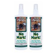 NaturVet Pet Organics NO MARK! Urine Odor Eliminating Spray for Cats 16 oz 2PACK