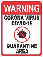 Quarantine Virus,, sign, signage. Medical sign, warning