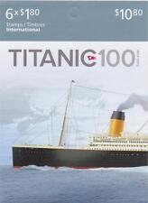 Canada 2012 BK486 (Stamp #2538) Titanic Booklet of 6 stamps - Unused
