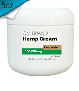 (Unscented) Extra-Strength Hemp Seed Pain Relief Cream 100,000mg