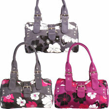 Magnetic Snap Tote Floral Handbags with Inner Pockets