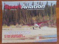 Sport Aviation Magazine April 2006 EAA Multitasking southern comfort multiples