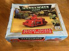 Warhammer 40k Blood Angels Baal Predator in Box -Complete