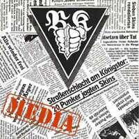 "Brassknuckles - Media (7"", EP, Ltd, Num) Vinyl Schallplatte - 10641"